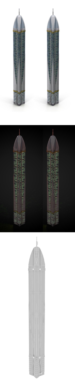 skyscraper_5 - 3DOcean Item for Sale