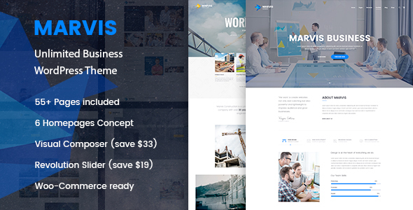 Marvis – Business Multi-Purpose WordPress Theme
