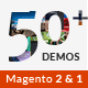 Magento 2 Themes & Magento 1.9, 2.1 - 50+ Templates - Multi-Purpose Responsive | EVERYTHING Nulled