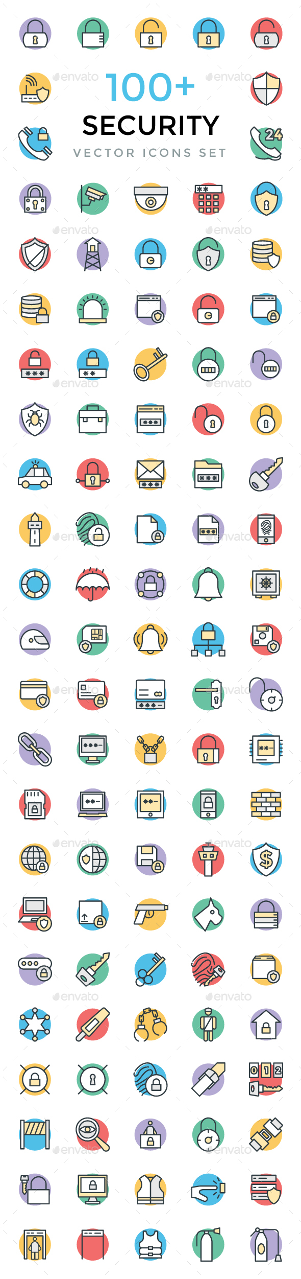 100+ Security Vector Icons - Icons