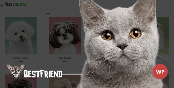 Bestfriend – Pet Shop WordPress WooCommerce Theme