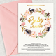 Boho Baby Shower invitation - GraphicRiver Item for Sale