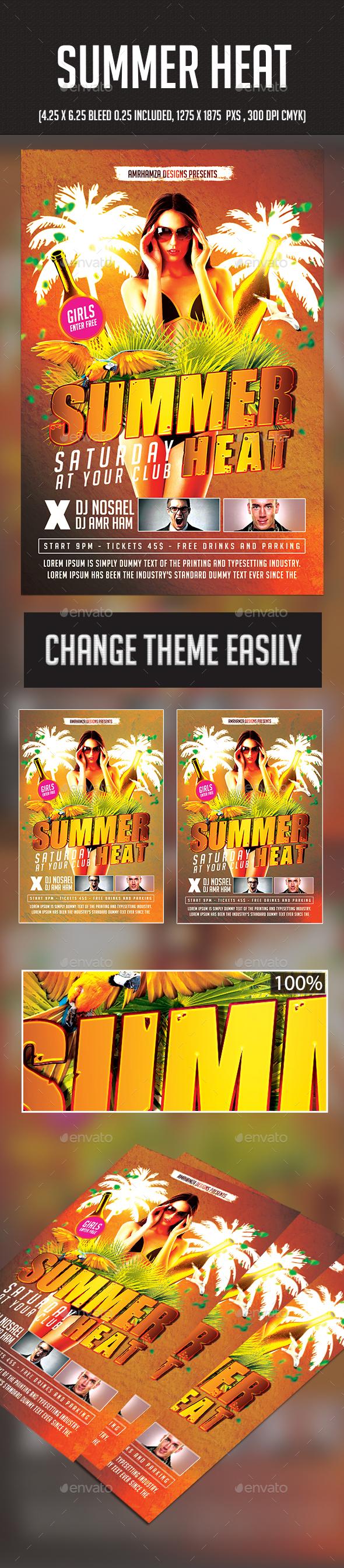 Summer Heat - Clubs & Parties Events