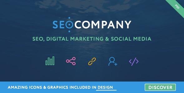SEO – Seo Company – Seo & Digital Agency PSD Template