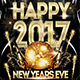 Happy New Years Eve Flyer Poster V2 - GraphicRiver Item for Sale