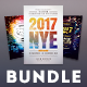 New year Flyer Bundle Vol.08 - GraphicRiver Item for Sale