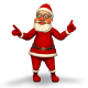 Santa Happy Dance (4-Pack) - VideoHive Item for Sale