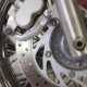 The Front Wheel of a Motorcycle - VideoHive Item for Sale