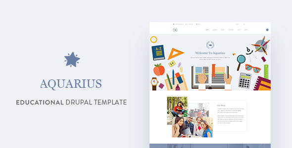 Aquarius - Educational University Drupal Template - Miscellaneous Drupal