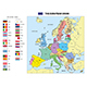Vector Map of The European Union with Flags and Capitals - GraphicRiver Item for Sale