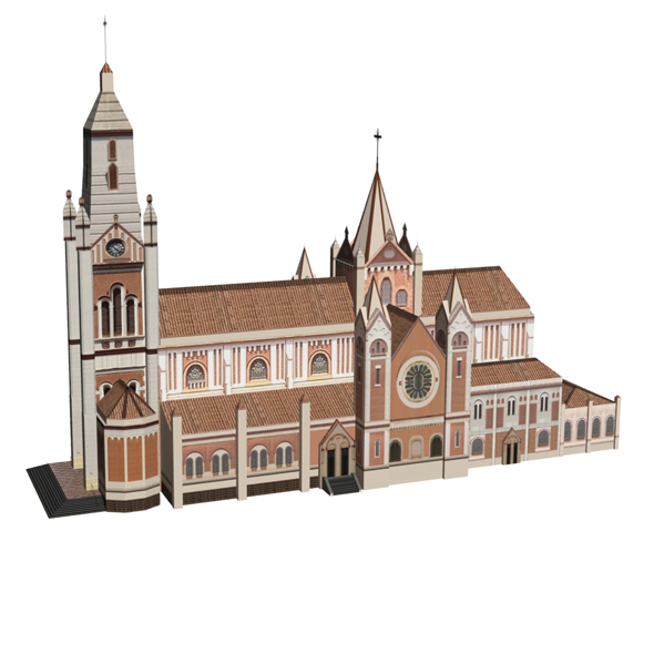 Roman Catholic Church - 3DOcean Item for Sale