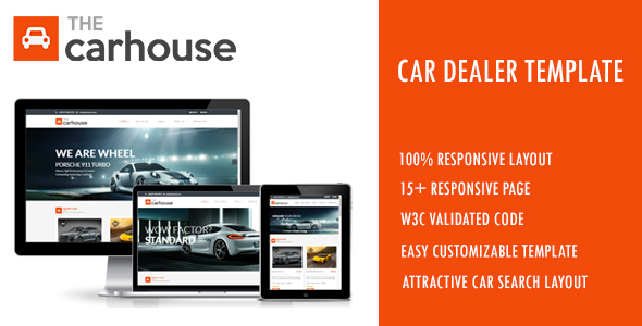 Car House - Car Dealer Template - Shopping Retail