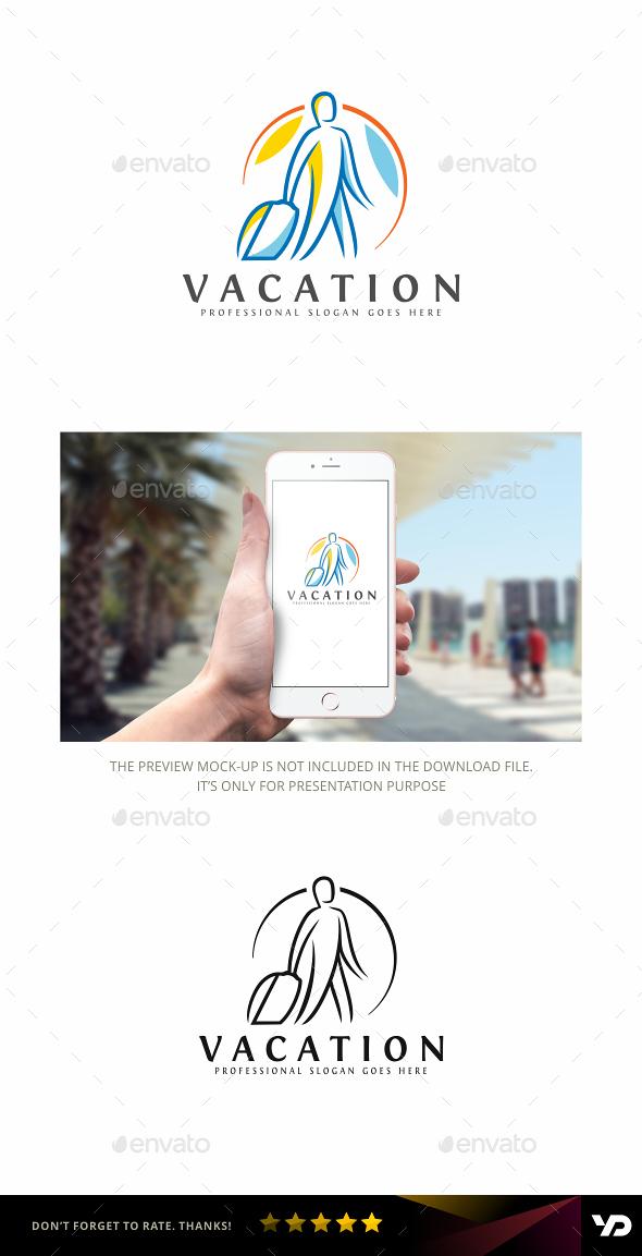 Vacation - Humans Logo Templates
