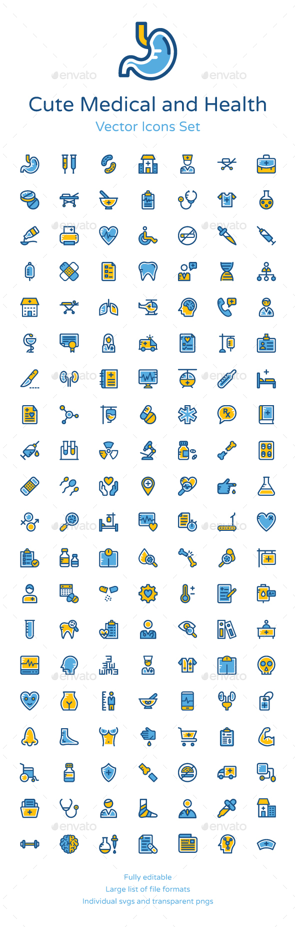 125+ Cute Medical and Health Icons - Icons