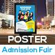 Admission Fair Poster