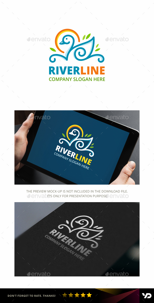 Duck Logo - Animals Logo Templates