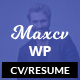 Max CV - Resume/CV WordPress Theme