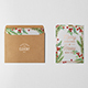 Photorealistic Invitation & Greeting Card Mockup Vol 2.0 / Bifold Edition - GraphicRiver Item for Sale