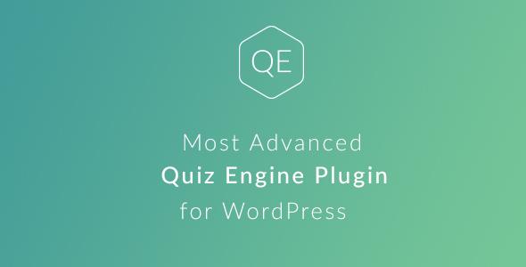 WordPress Quiz Engine Plugin - CodeCanyon Item for Sale