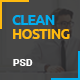 Clean Hosting - ThemeForest Item for Sale