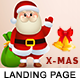 X-MAS - Multipurpose Responsive HTML Landing Page - ThemeForest Item for Sale
