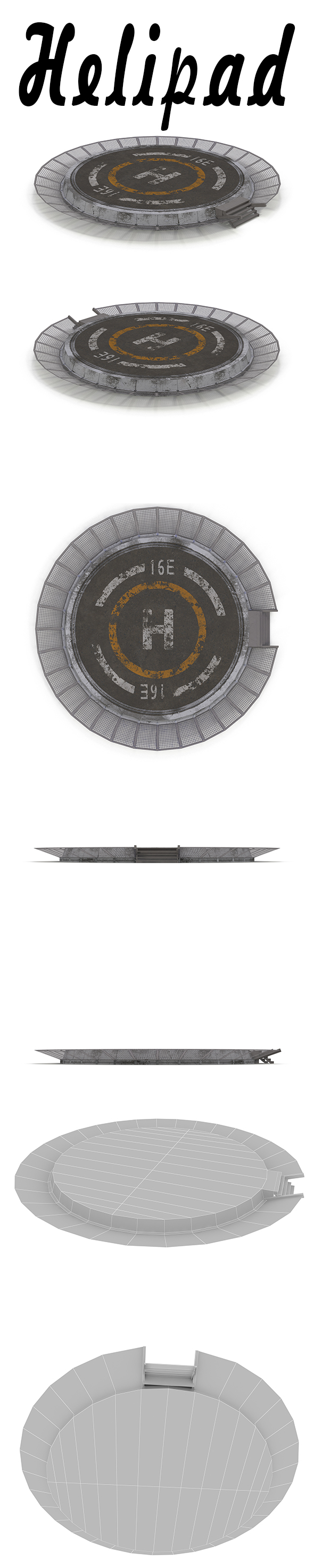 Helipad - 3DOcean Item for Sale
