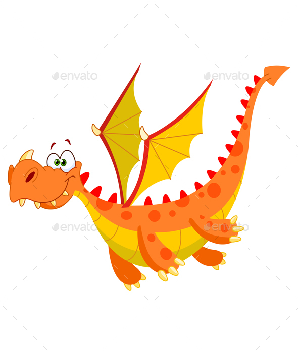 Flying Dragon - Monsters Characters