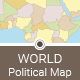 World Political Map - GraphicRiver Item for Sale