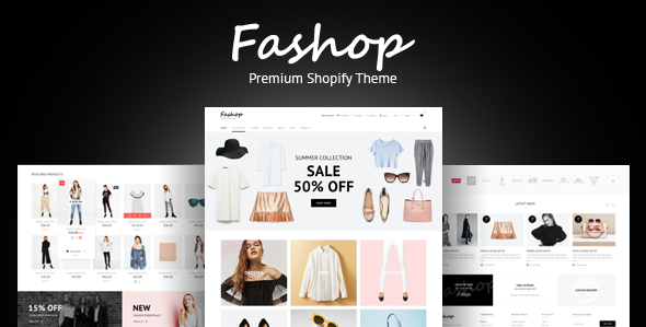 FAshop – premium Responsive fashion Shopify theme