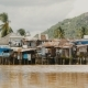 Slums in Nha Trang. Houses on the River. Vietnam. - VideoHive Item for Sale