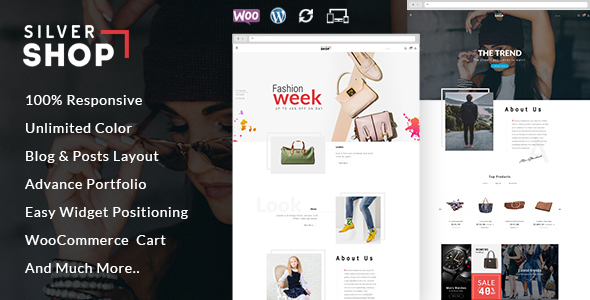 Silver Shop – Multipurpose WooCommerce Theme
