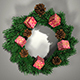 Xmas Wreath - 3DOcean Item for Sale