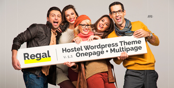 Regal Hostel – Hostel and Hotel Theme