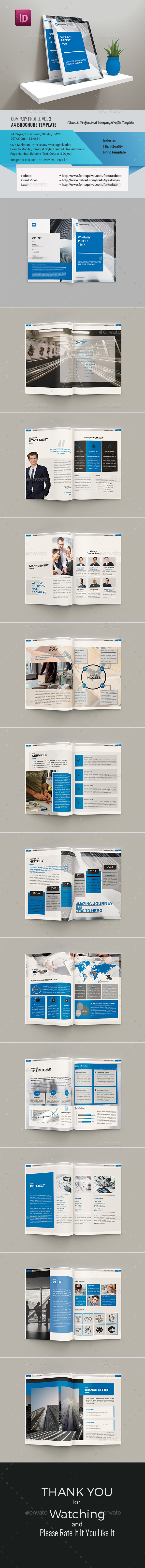 Company Profile Vol 3 - Corporate Brochures