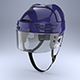 Ice Hockey with Glass Visor Model - 3DOcean Item for Sale