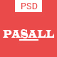 Pasall - Modern eCommerce PSD template - ThemeForest Item for Sale