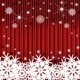 striped background with the snowflakes - GraphicRiver Item for Sale
