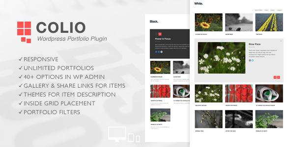 Colio – Responsive Portfolio WordPress Plugin nulled