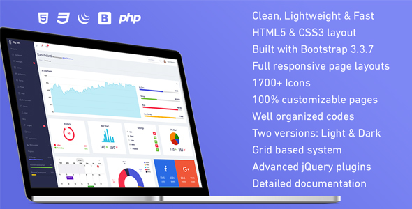 Big Ben – Responsive Admin Dashboard Template