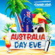 Australia Day Party Flyer vol.4 - GraphicRiver Item for Sale