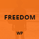 Freedom - Responsive One Page WordPress Theme - ThemeForest Item for Sale