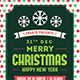 Christmas & Happy New Year Flyer
