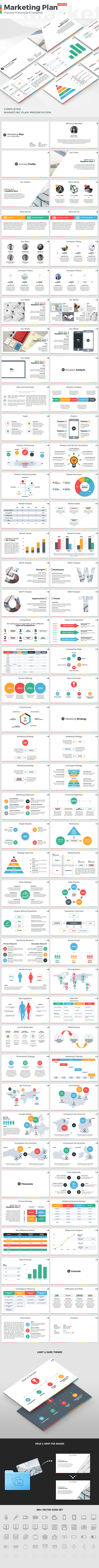 Marketing Plan - Keynote Presentation Template - Keynote Templates Presentation Templates