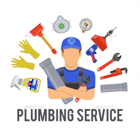 Plumbing Service Concept - Concepts Business