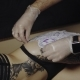 Tattoo Artist Preparing Skin of His Client To the Process of Making Tattoo - VideoHive Item for Sale