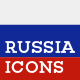 Russia Landmark Icons - GraphicRiver Item for Sale