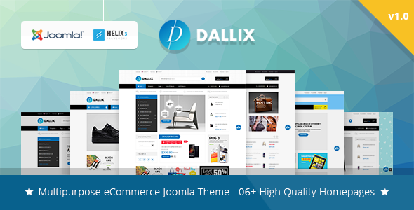 Image of Vina Dallix - Multipurpose Joomla & VirtueMart Template