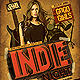 Indie Night Flyer Party