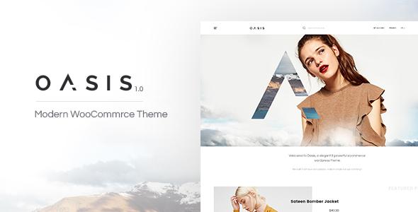 Oasis - Modern WooCommerce Theme - WooCommerce eCommerce