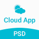 Cloud App Landing Page Template